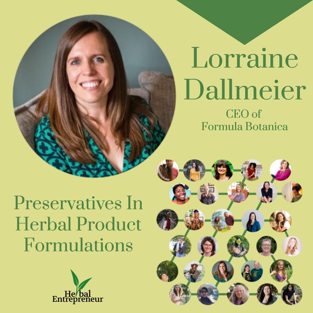 Herbal Entreprenuer Conference - Lorraine Dallmeier